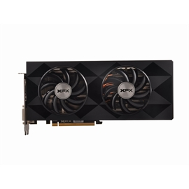 XFX Video Card R9-390P-8DB6 R9 390 8GB DDR5 Double Dissipation 512Bits  DisplayPort/HDMI/Dual DVI-D Retail