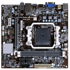ECS Motherboard A68F2P-M4 AMD A68 FM2+ PCI Express VGA/HDMI mini-ATX Retail