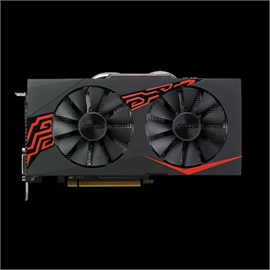 ASUS Video Card EX-RX570-O8G Radeon RX 570 8GB OC Edition Gaming GDDR5  Display Port/HDMI/DVI Retail