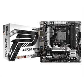 ASRock Motherboard MB-X370M-HDV AM4 A-Series AMD X370 Maximum 32GB