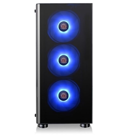 Thermaltake Case CA-1K8-00M1WN-01 V200 Tempered Glass RGB Edition Mid Tower